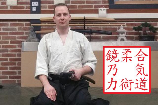 Kasper van der Burgh, Sensei en oprichter van 'Kagami no chikara' te Sneek.