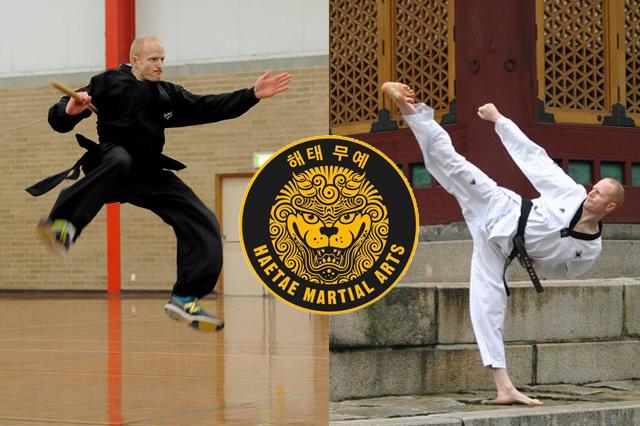 Damian Adams, Sensei van Haetae Martial Arts – 해태 무예 in Australië.